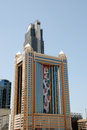 Business district dubai united arab emirates april overview of the in april in united arab emirates this is an Stock Image