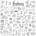 Business Doodle Icons