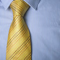 Business dress - shirt & tie Stock Image