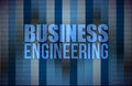 Business engineering on digital screen, business Royalty Free Stock Photos