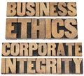 Business ethics Stock Photography