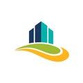 Business finance graph logo