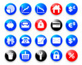 Business & Finance Icons. Royalty Free Stock Photography