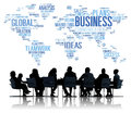 Business Global World Plans Organization Enterprise Concept Royalty Free Stock Photo