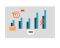 Business Graph and Chart Icons. Editable Symbols