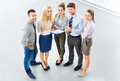 Business group high angle view people Royalty Free Stock Photography