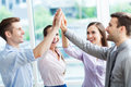 Business group joining hands Royalty Free Stock Photo