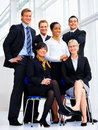 Business group portrait Royalty Free Stock Photos