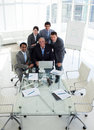 A business group showing diversity working Stock Photos