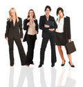Business group of woman only Royalty Free Stock Images