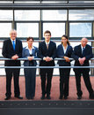 Business groups - Businesspeople standing together Royalty Free Stock Photo