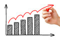 Business Growth Graph Royalty Free Stock Photo