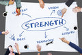 stock image of  Business Growth Strategy Concept