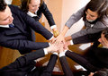 Business hands of teamwork Stock Photo