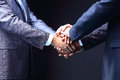 Business handshake great deal teamwork concepts Stock Image