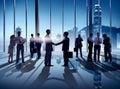 Business Handshake In Hong Kon...