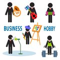 Business hobby Royalty Free Stock Photo