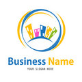 Business house icon design Royalty Free Stock Photography