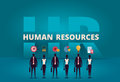 Business HR concept. Human resources manager hiring employee