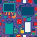 Business Icon 1 Seamless Pattern Company