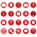 Business icon web buttons Royalty Free Stock Photo