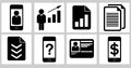 Business icons 02 Stock Image