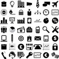 Business Icons Royalty Free Stock Images