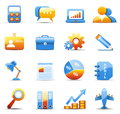 Business icons vector set of Royalty Free Stock Image