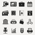 Business icons web vector illustration for best use Royalty Free Stock Photo