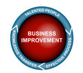 Business Improvement Diagram Stock Photo