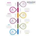 Business Infographics design template illustration.