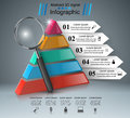Business infographics. Loupe icon.