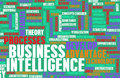 Business intelligence and analytics with data art Stock Photos