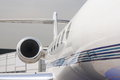 Business jet Royalty Free Stock Photo