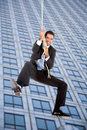 Business jump Stock Photos