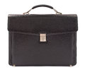 Business leather briefcase Royalty Free Stock Photo