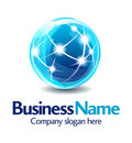 Business logo design 3D Stock Photo