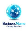 Obchod označenie organizácie alebo inštitúcie dizajn 3