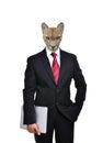 Business Man With Animal Head ...