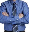 Business man with arms crossed Stock Photos
