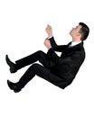 Business man climb up Stock Photography