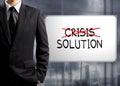 Obchodník kříž krize a najít