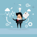 Business Man Curriculum Vitae Recruitment Candidate Job Position, CV Profile
