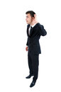 Business man isolated Royalty Free Stock Photo
