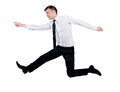 Business man jump Royalty Free Stock Photo