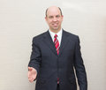 Business man offering a handshake Royalty Free Stock Photo