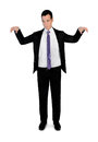 Business man puppeteer Royalty Free Stock Photo
