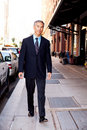 Business Man on Street Stock Images