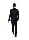 Business man walk away Royalty Free Stock Photo