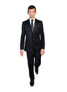 Business man walk forward Royalty Free Stock Images